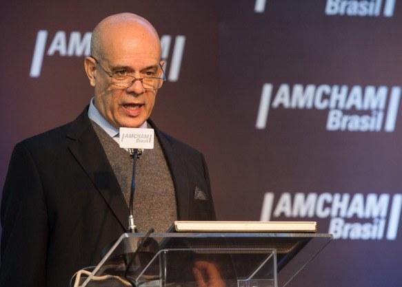 Presidente Do INPI, Luiz Pimentel, Participa Do Lançamento Do Relatório Sobre O INPI Na Amcham