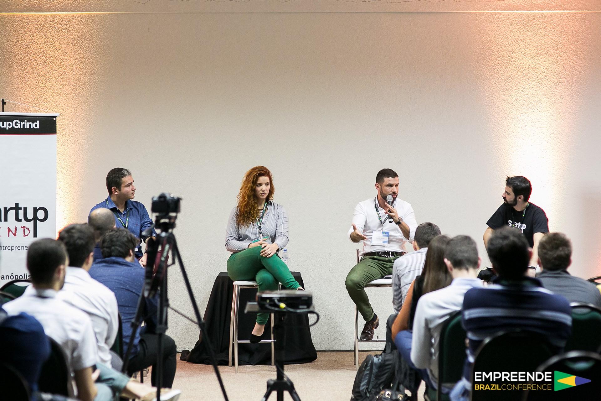 Samuel C. Simões Em Sua Participação No Empreende Brazil Conference (Reprodução)