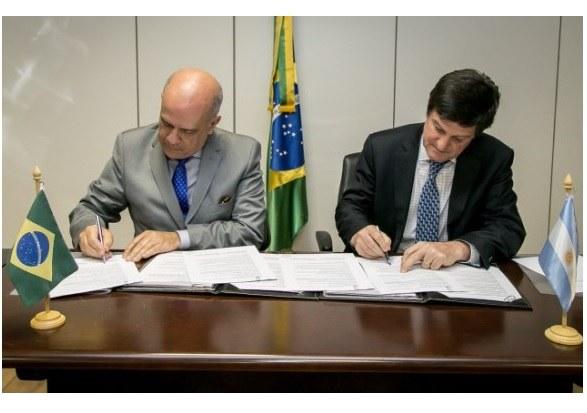 Assinatura De Acordo Com A Argentina  Foto: Washington Costa/MDIC