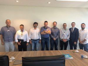 Reunião de representantes da agenda conjunta de Inovação e Propriedade Intelectual para SC