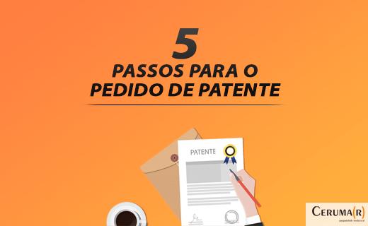 Cinco Passos Para Pedir Patente De Invenção